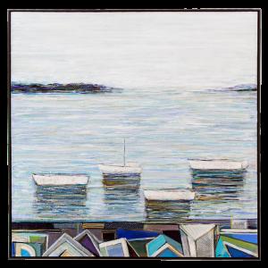 José Gonçalves - A vista  - 1,3x1,3